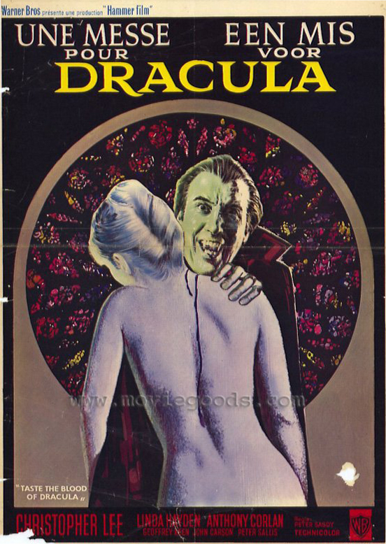 Taste the Blood of Dracula - POSTER