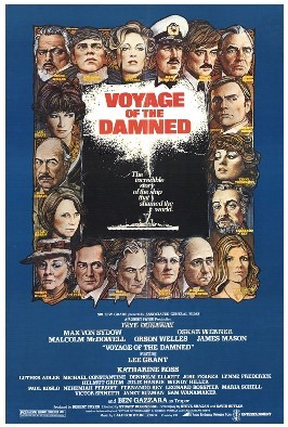 Anthony Higgins - Voyage of the Damned - poster - 3