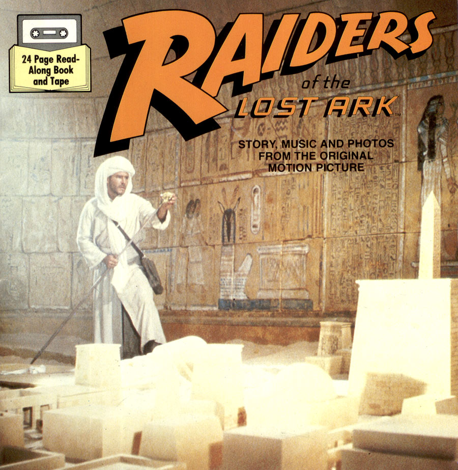 Raiders of the Lost Ark - Audio cassette