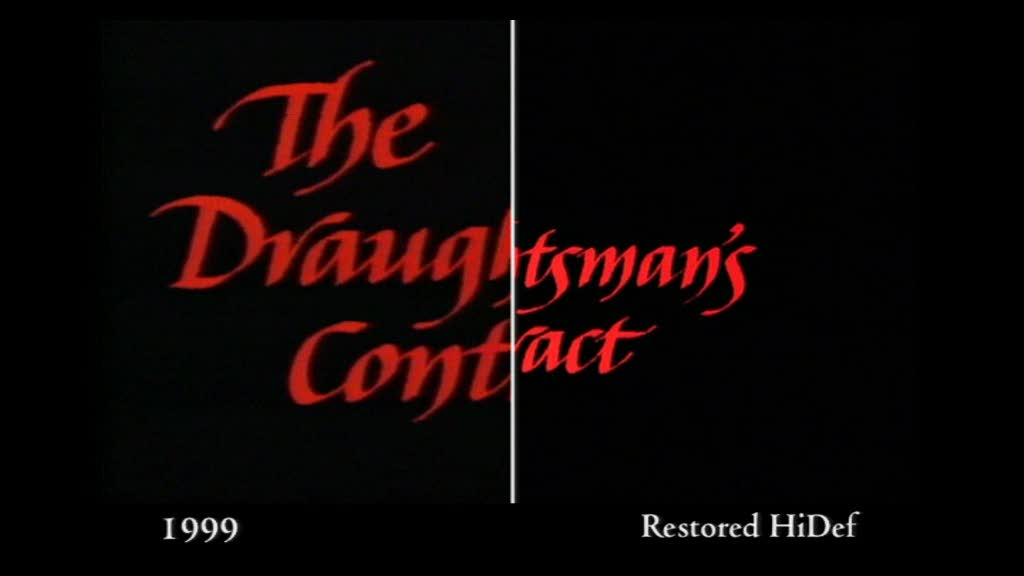 The Draughtsman's Contract - Restoration