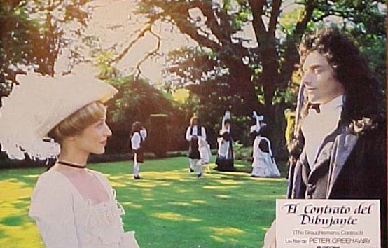 The Draughtsman's Contract - film card