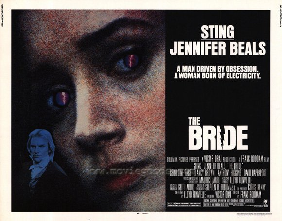 Anthony Higgins - The Bride - Poster