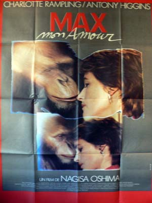 Anthony Higgins - Max, Mon Amour - poster