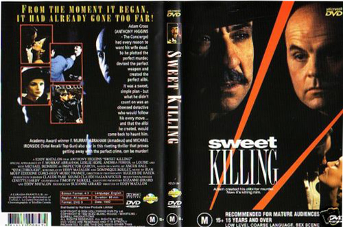 Anthony Higggins - Sweet Killing - DVD cover