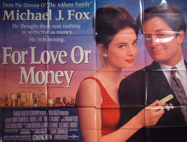 For Love Or Money - Poster