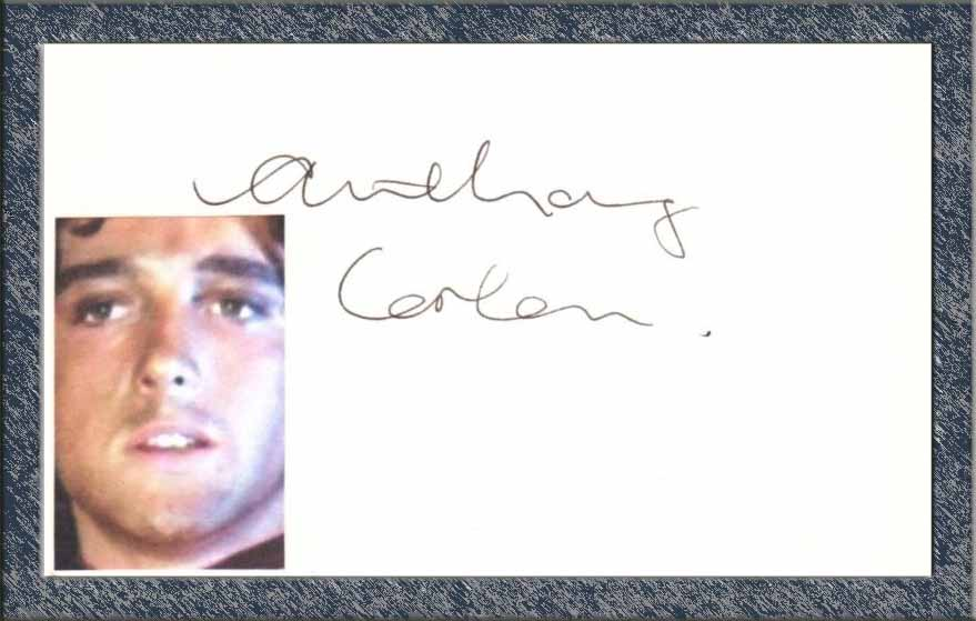 Anthony Corlan - Autograph