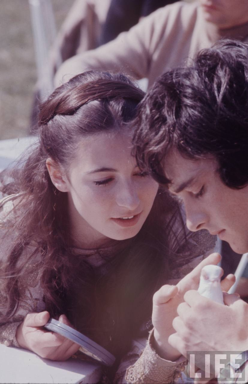 Anthony Higgins and Anjelica Huston - A walk with Love and Death
